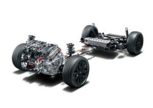 Toyota C-HR 2020 powertrain ibrido