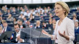 Presidente Commissione Europea Ursula Von der Leyen
