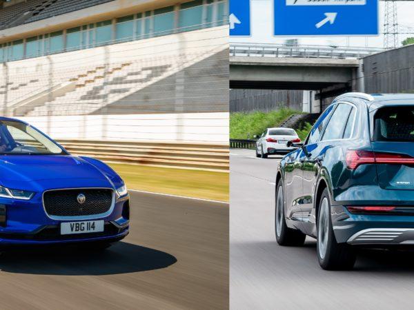 Audi E-Tron e Jaguar I-Pace