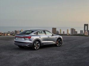 Audi e-tron sportback posteriore tre quarti