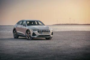 Audi elettrica muso