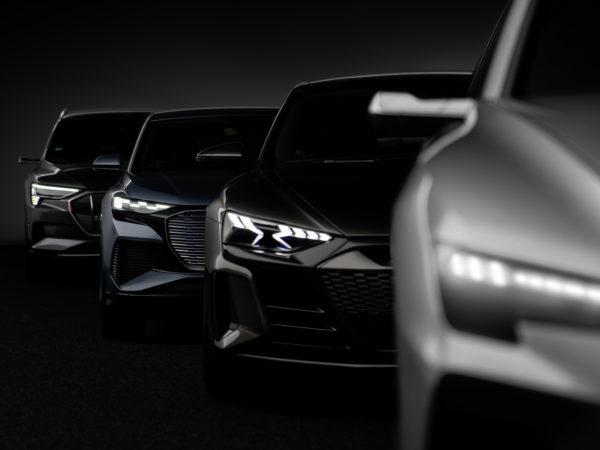 Gamma e-tron Audi