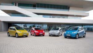 Volkswagen e-up! 2030 vari colori avanti