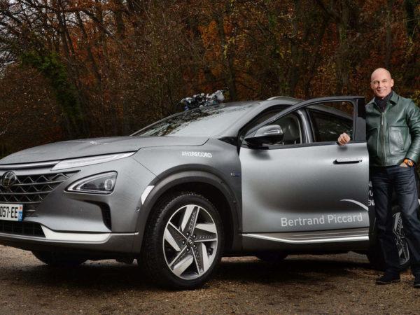 Bertrand Piccard & Hyundai Nexo