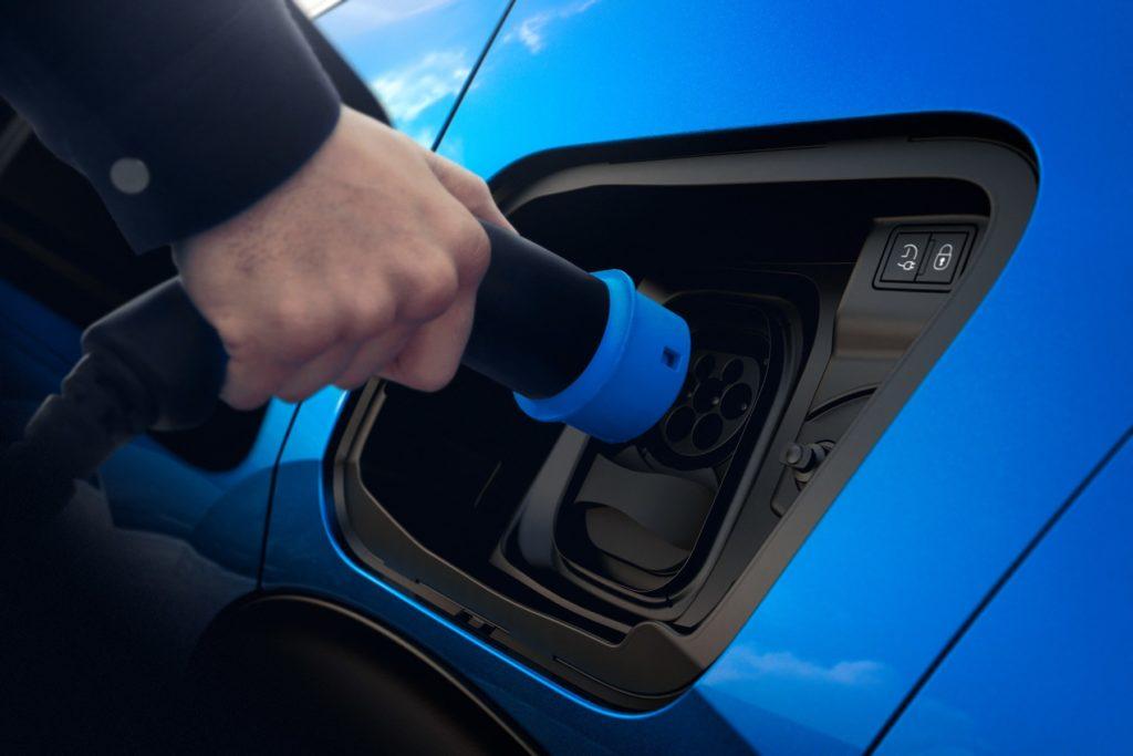 Presa di ricarica auto elettrica