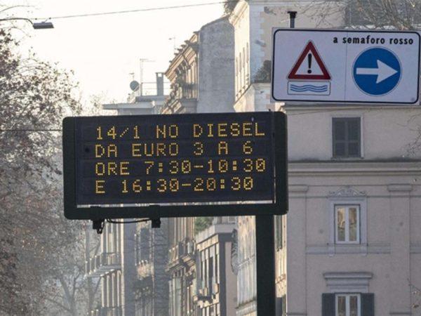 Blocco diesel euro 6 Roma