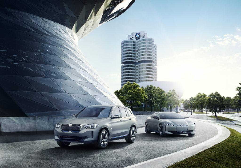 BMW iX3 e i4
