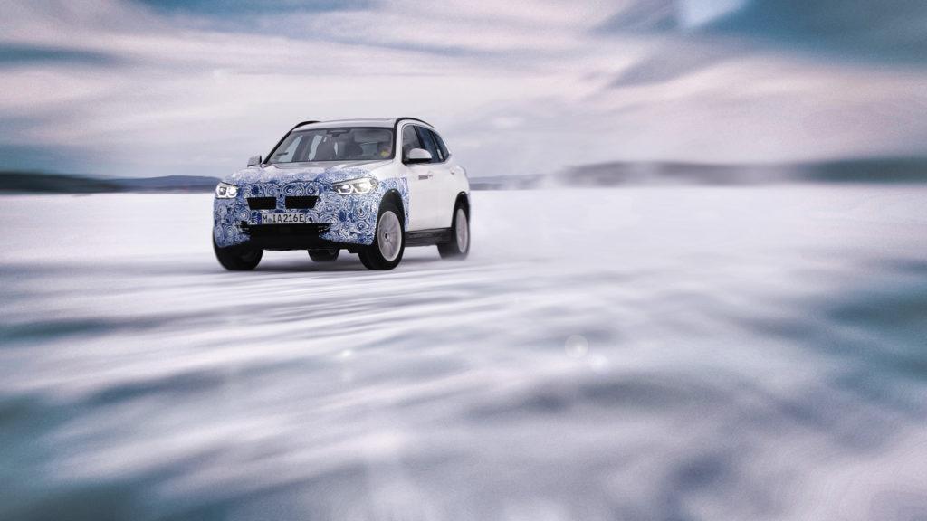 BMW iX3 prototipo