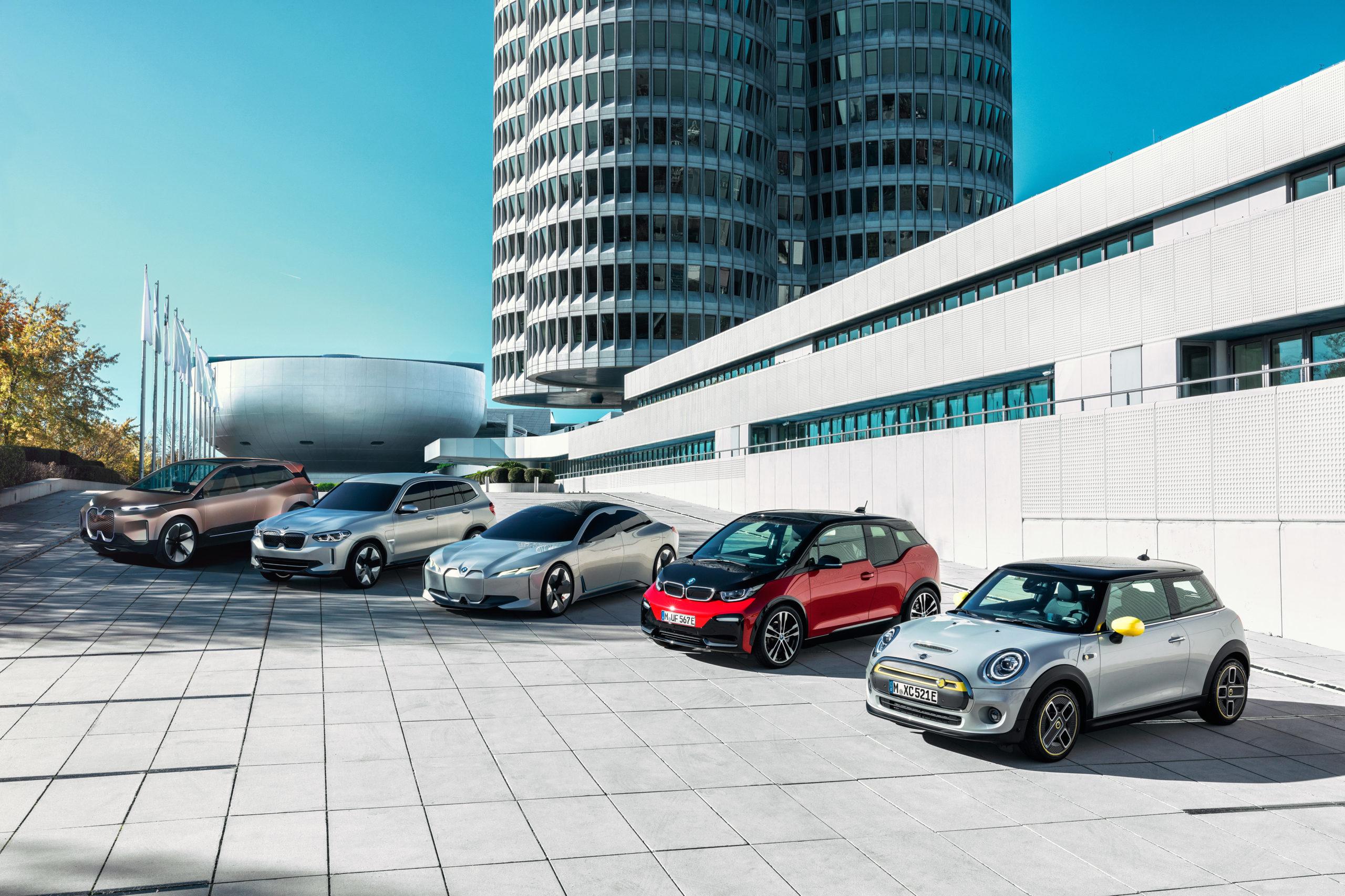 BMW, arrivano iX3, i4, iNext e tutte le elettriche di nuova generazione