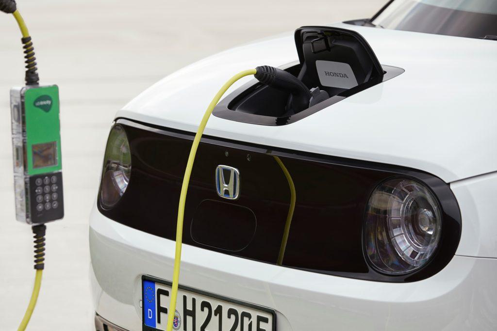 ricarica elettrica Honda e