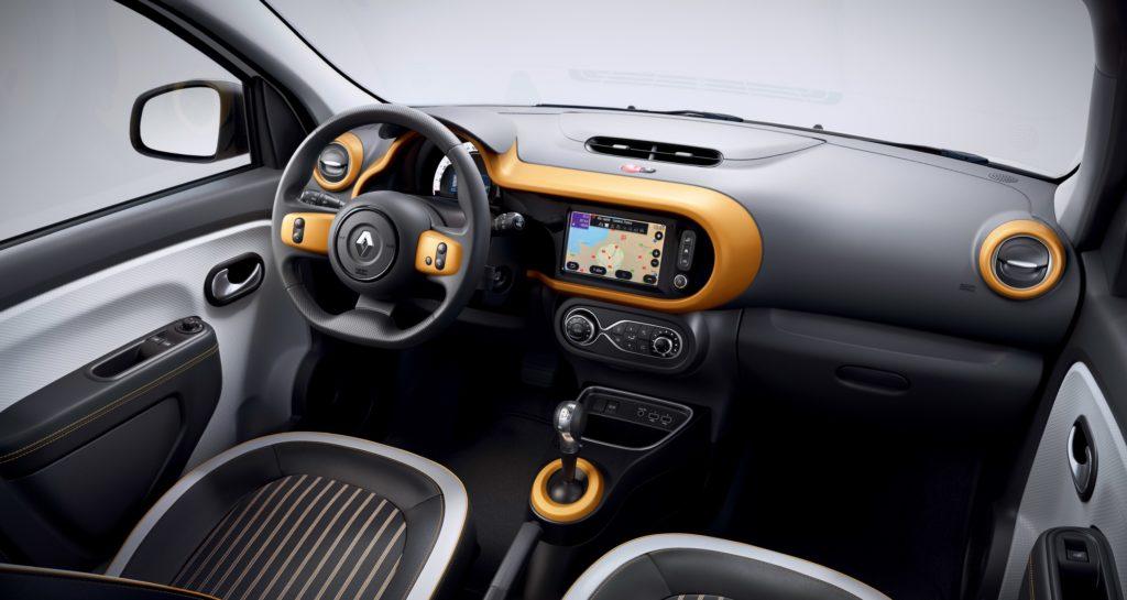 Renault Twingo elettrica interni