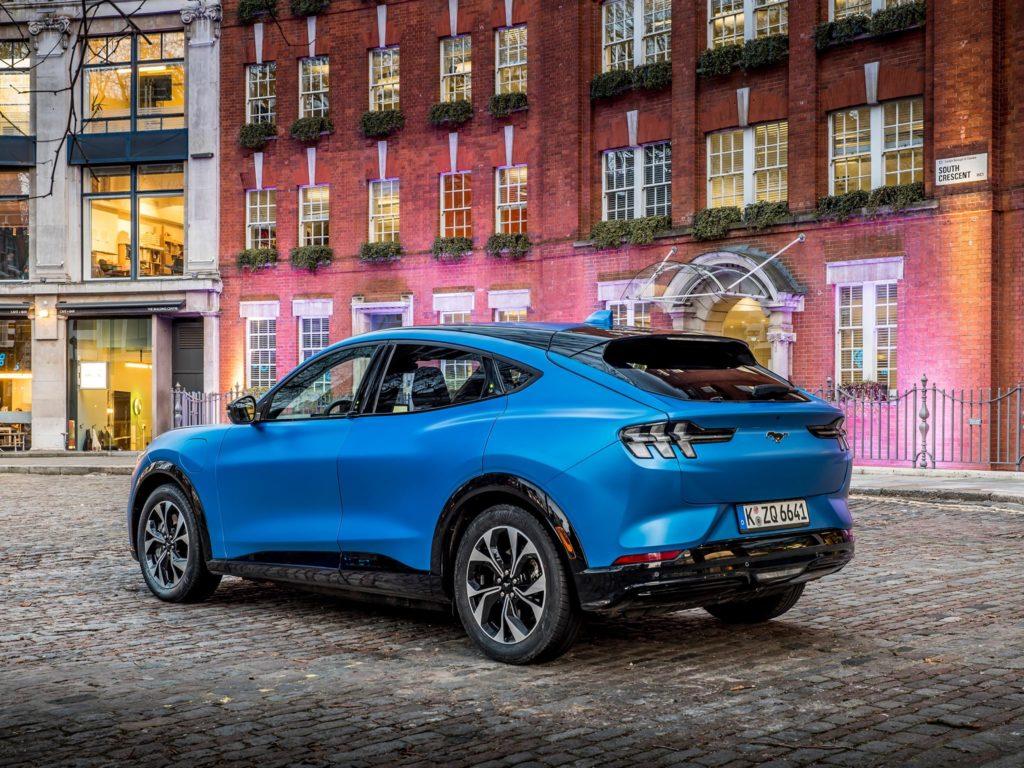 Mustang Mach-E posteriore