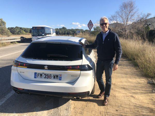 FO con Peugeot 508 Plug-in