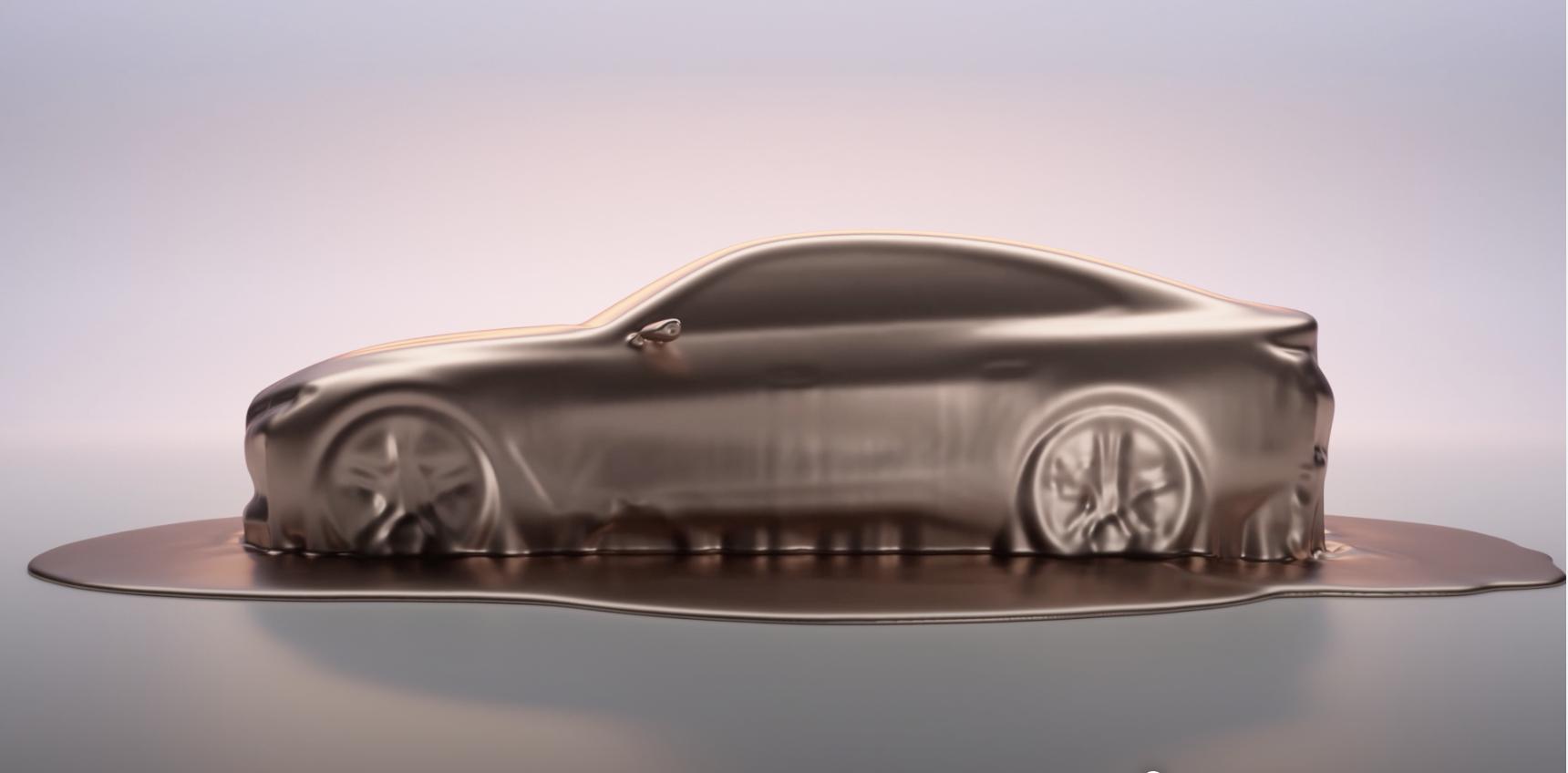 Bmw i4 elettrica ecco la prima immagine dell'anti Tesla Model 3