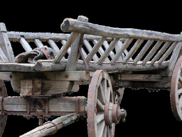 Carretto di legno