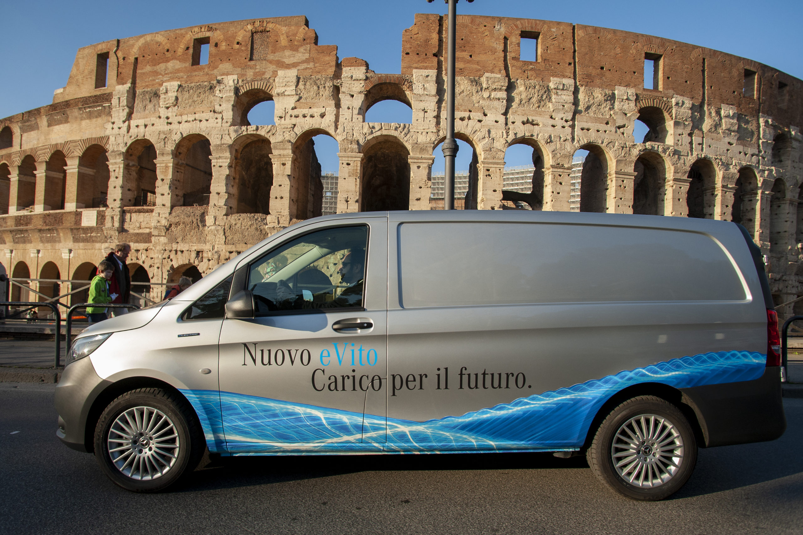 Mercedes e-Vito, van elettrico per le consegne in città