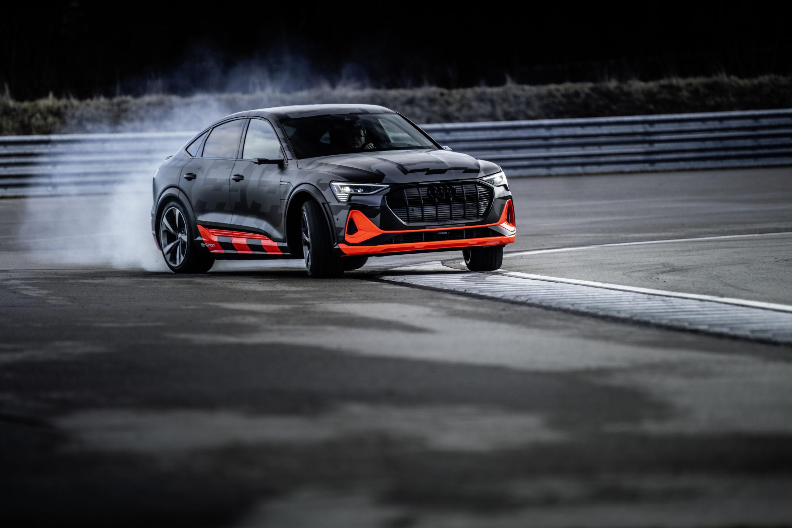 Audi E-tron S ed E-tron S Sportback, potenza elettrica