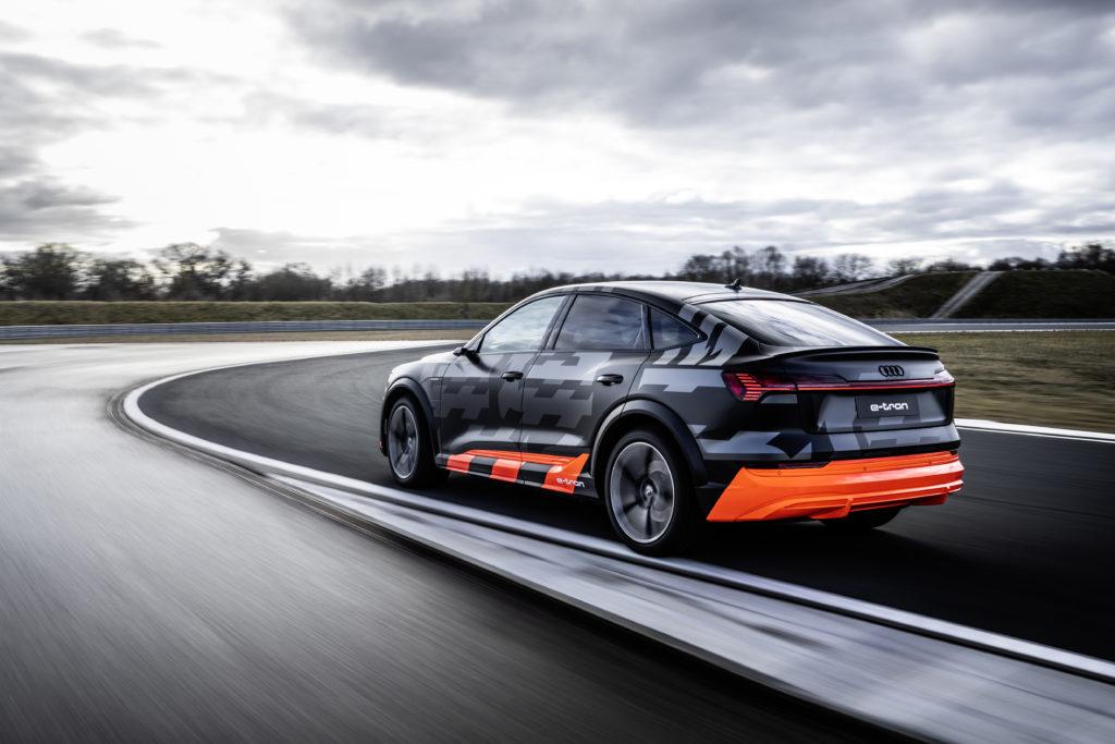 Audi e-tron s sportback retro