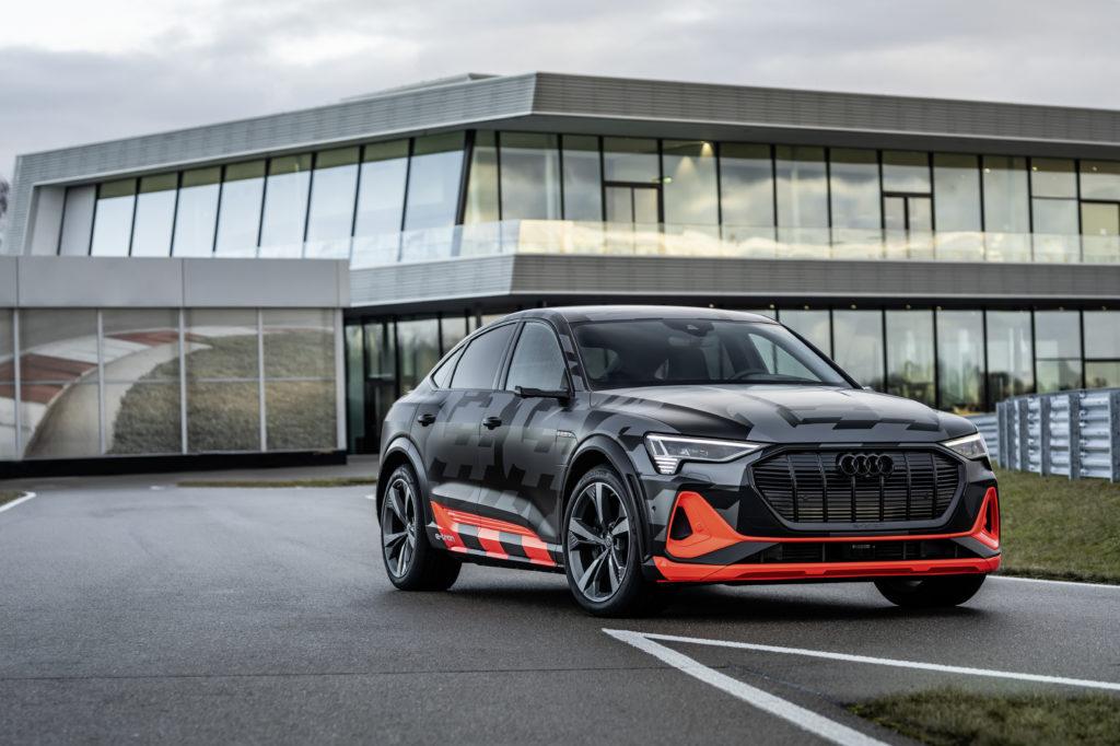 Audi e-tron s sportback fronte