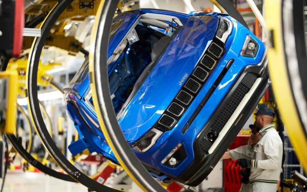FCA prestito BEI per produzione Jeep plug-in a  Melfi
