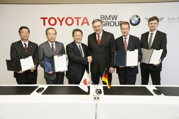 BMW Toyota accordo 24 gennaio 2013
