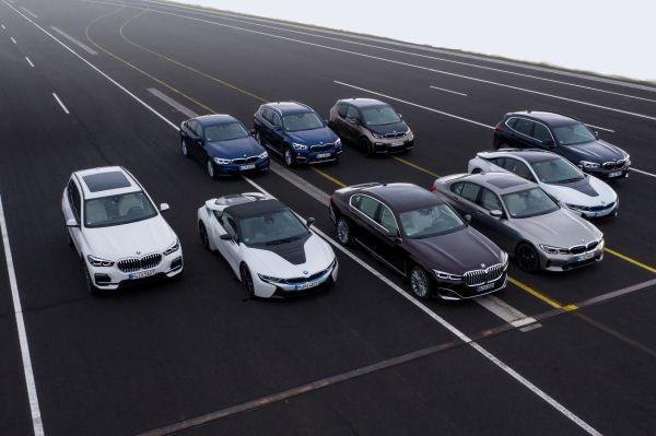 BMW gamma elettrificata
