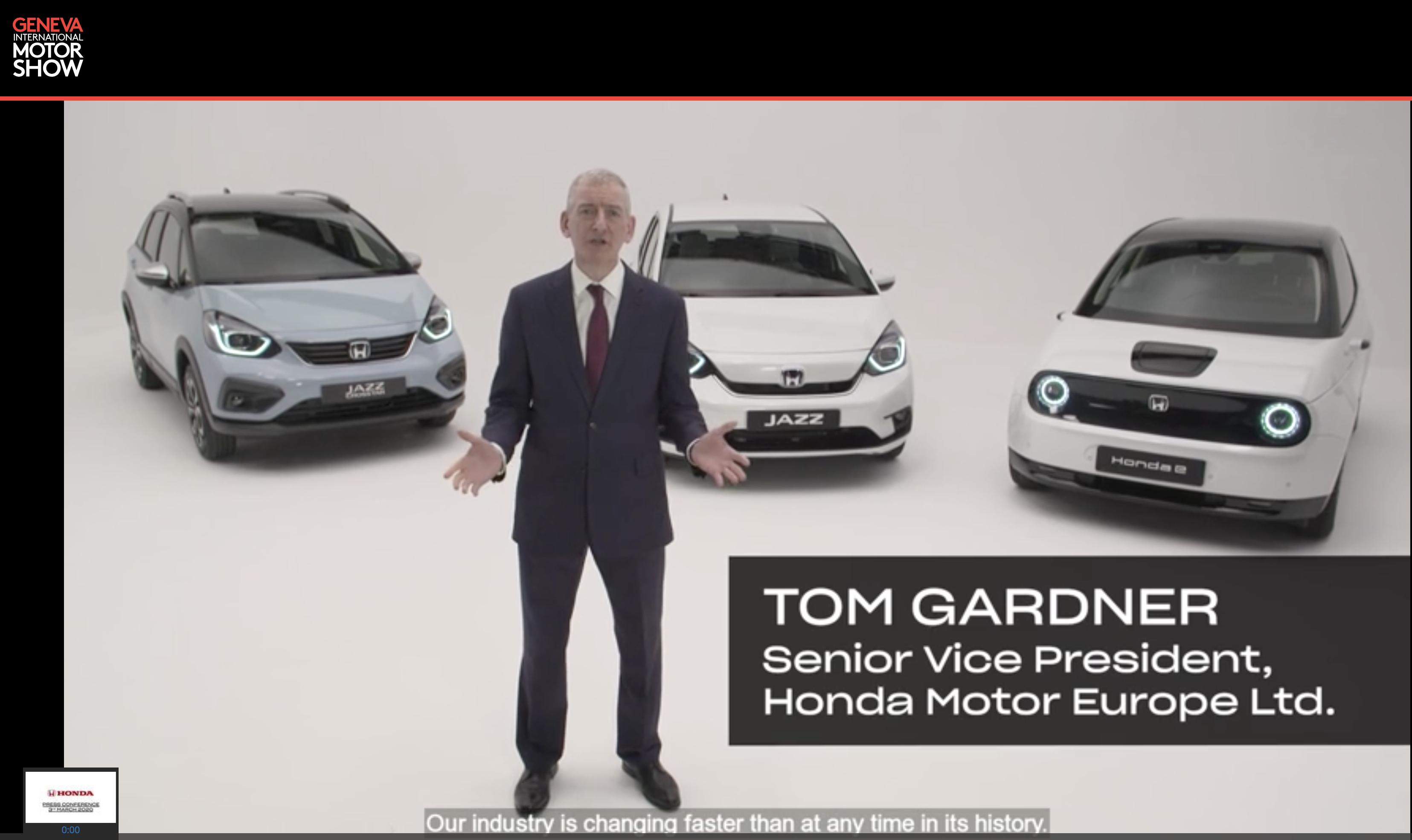 Salone virtuale Ginevra 2020, Honda E:Technology è il marchio dell'elettrico
