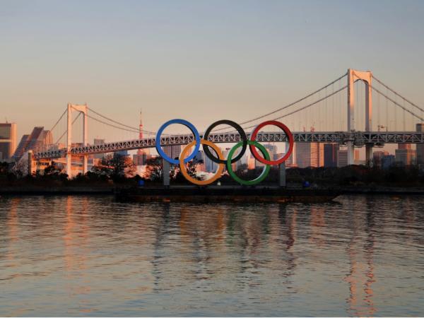 Cerchi olimpici Olimpiadi Tokyo 2020
