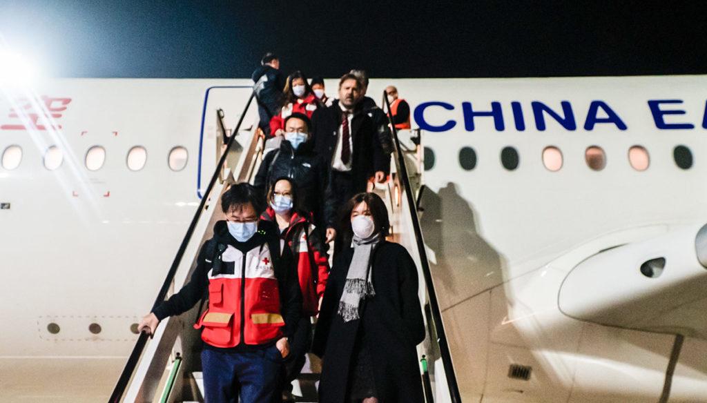 medici cinesi asse Italia-Cina coronavirus