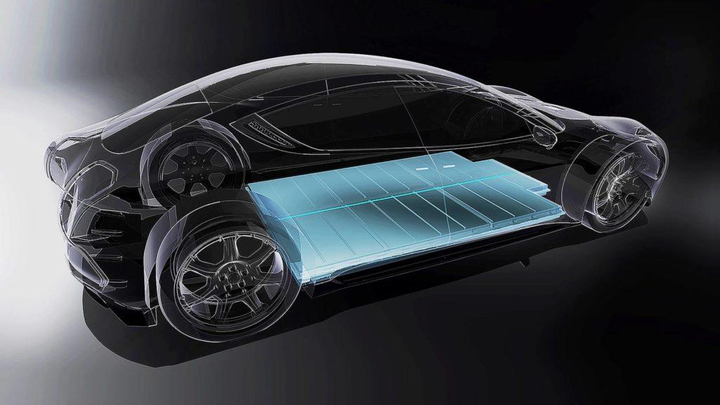 Auto elettrica batterie stato solido