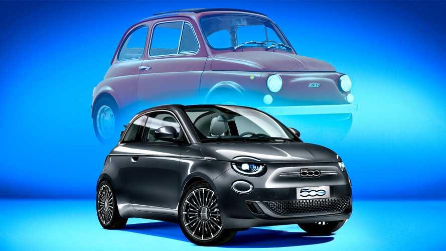 Fiat 500 elettrica e originale