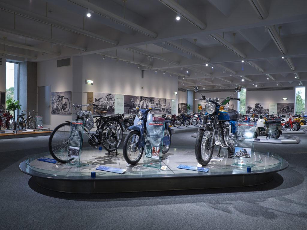 Moto museo Honda