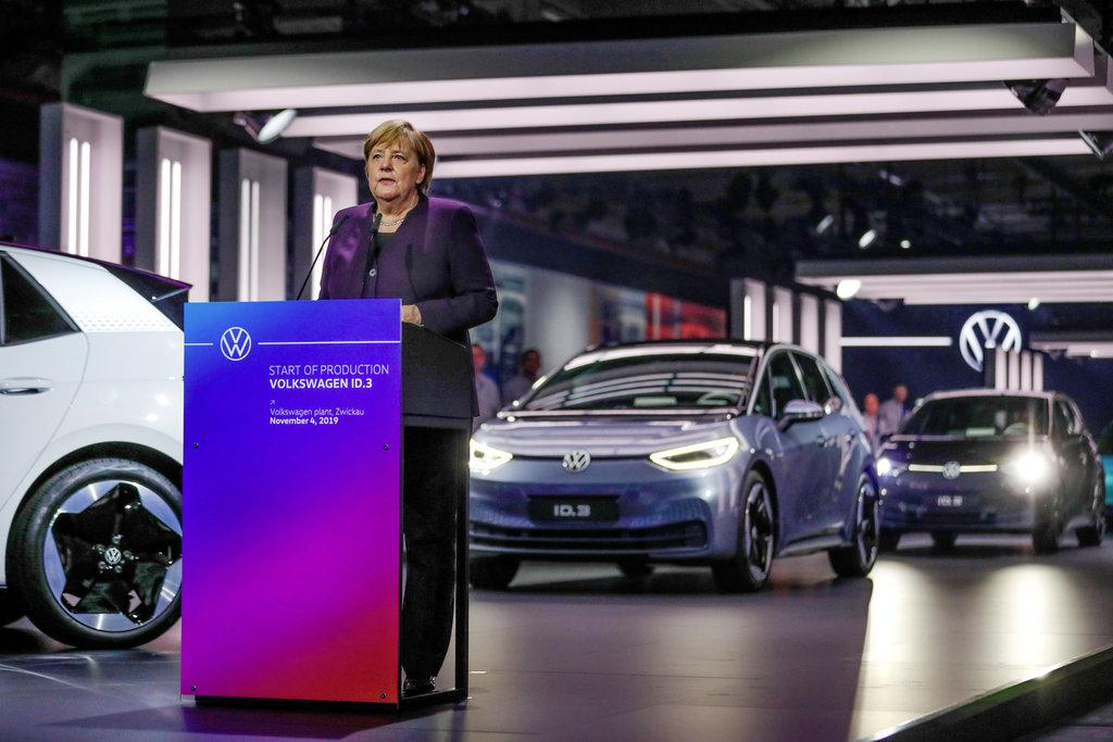 Zwickau Angela Merkel