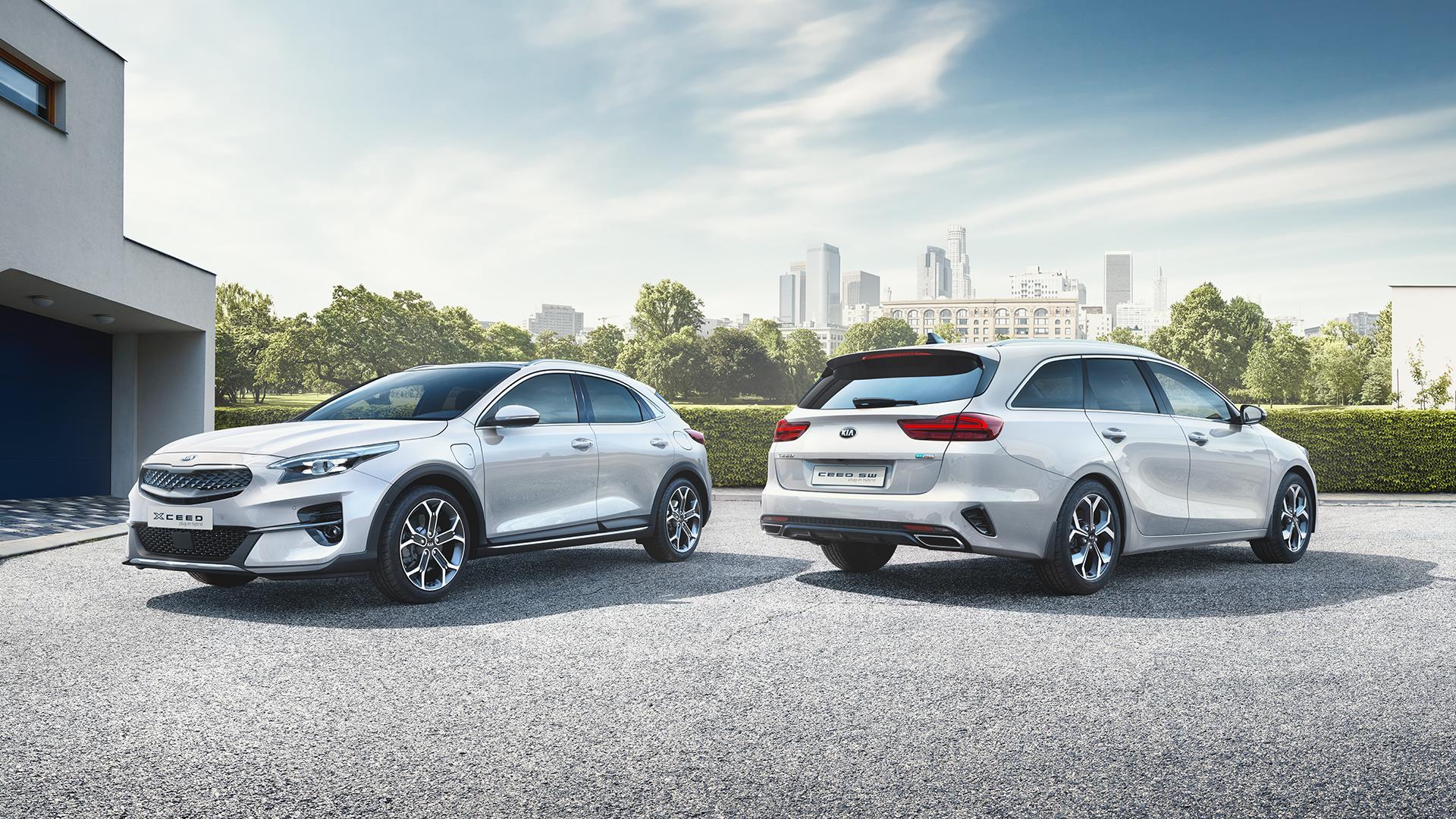 Kia XCeed e Kia Ceed Sportswagon Plug-in Hybrid al debutto in Italia