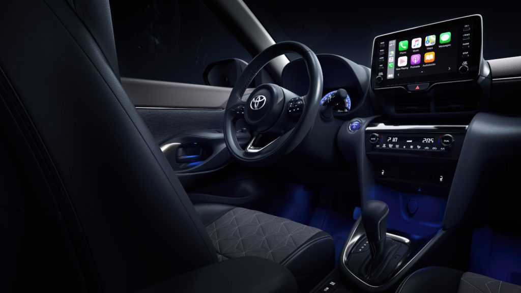 Interni Toyota Yaris Cross
