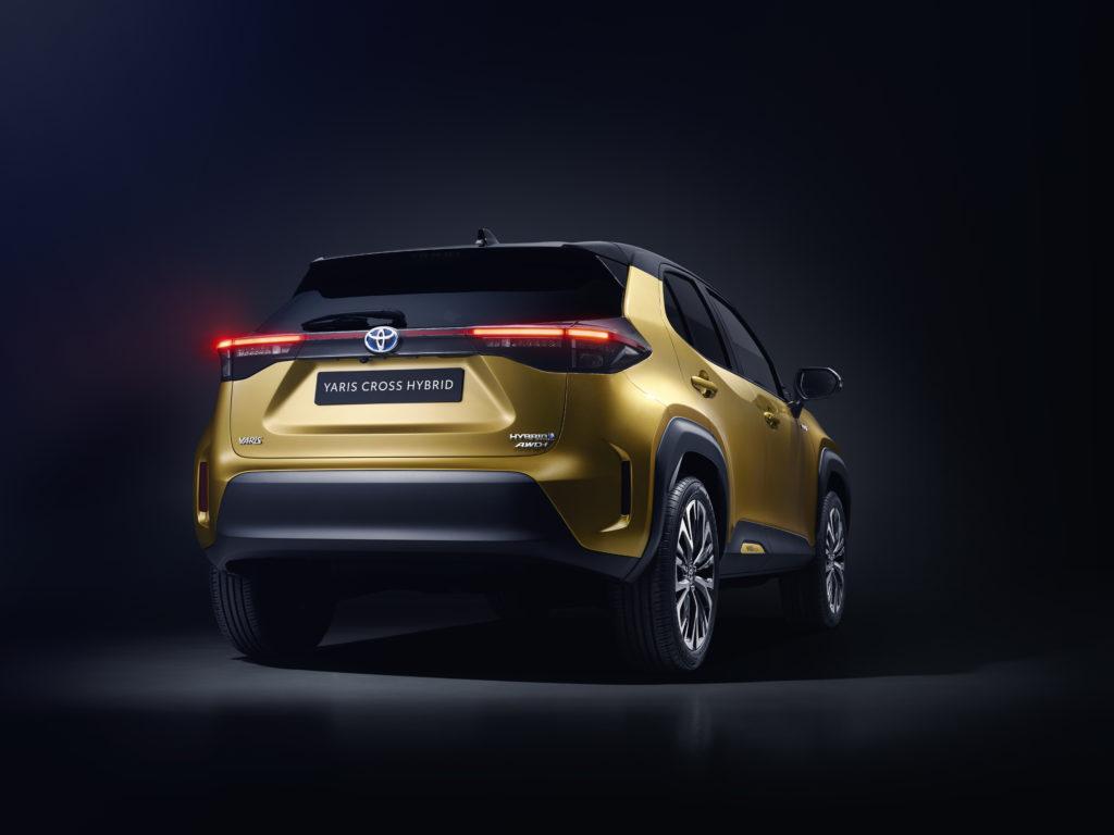 Toyota Yaris Cross posteriore