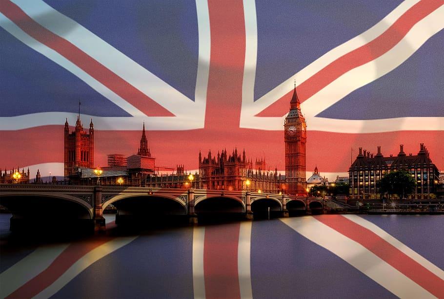 Bandiera Regno Unito Londra