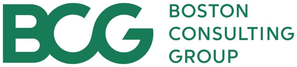 Boston consulting group logo con scritta