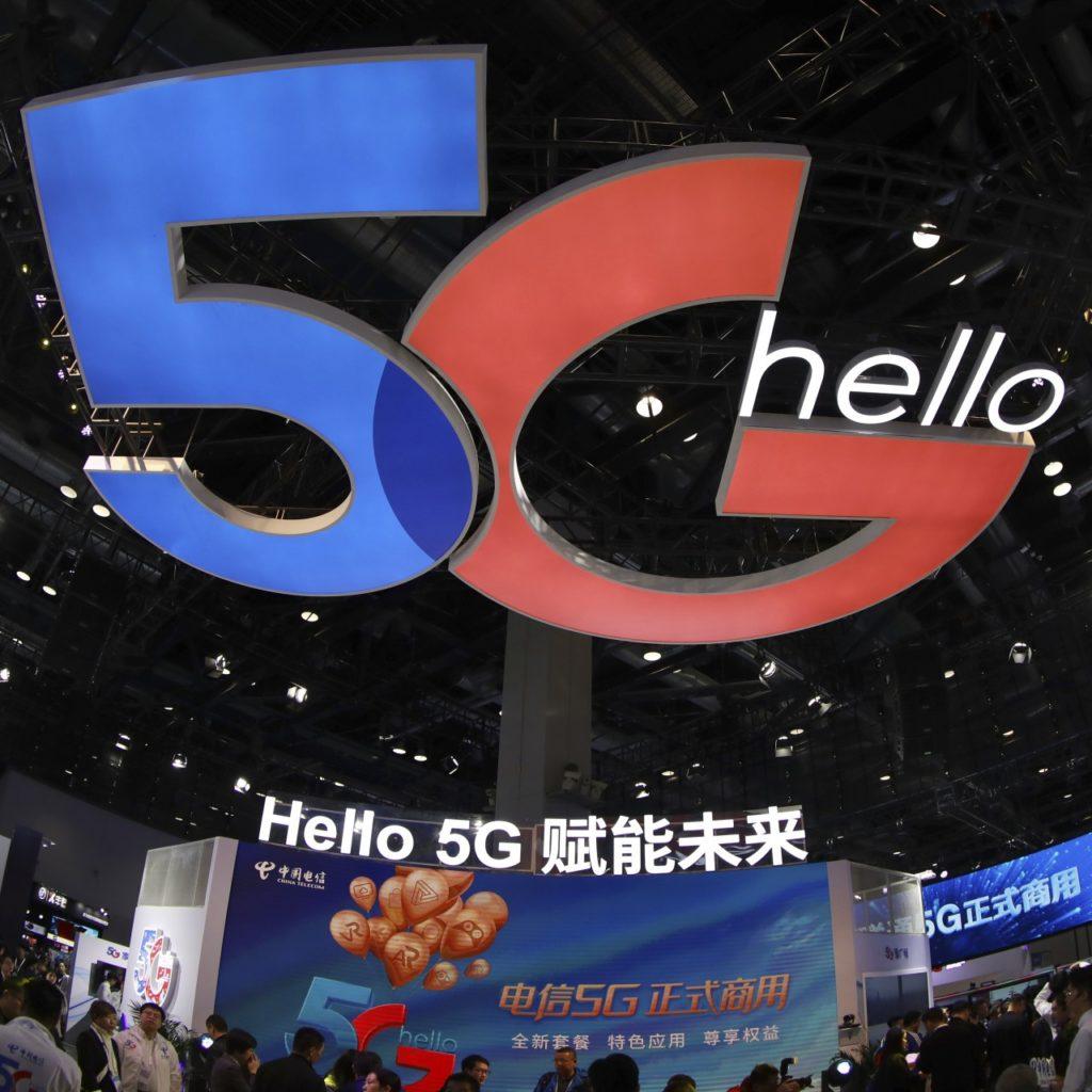 Coronavirus Hello 5G Cina