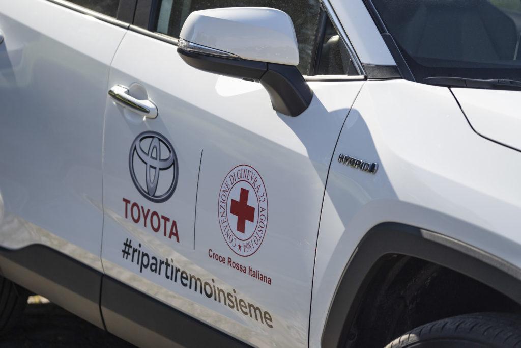 Coronavirus auto Toyota alla CRI