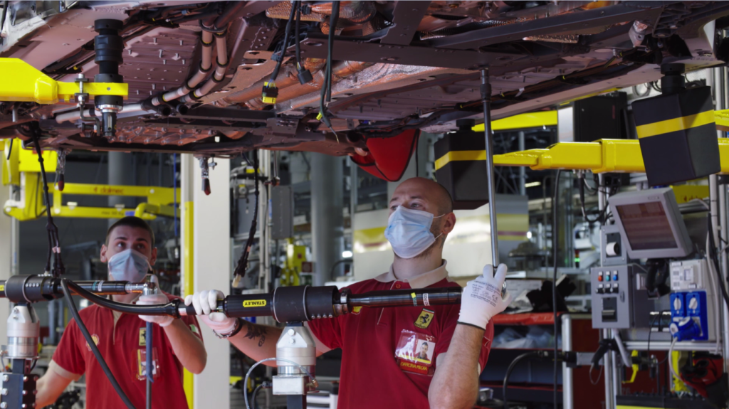Ferrari produzione