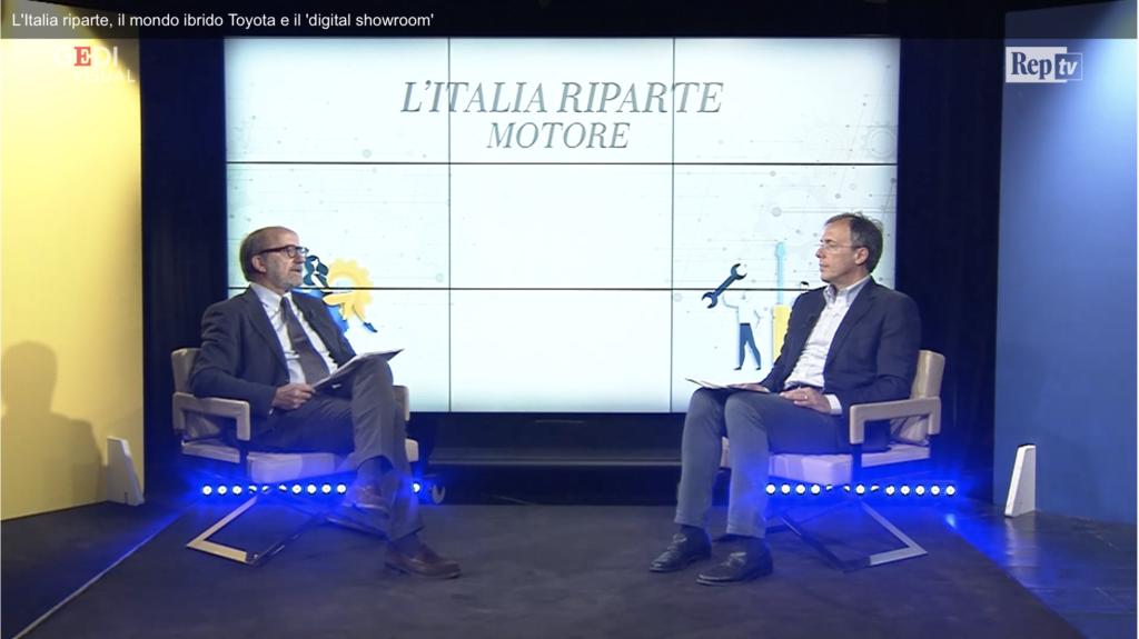 L'Italia riparte Auto ibrida