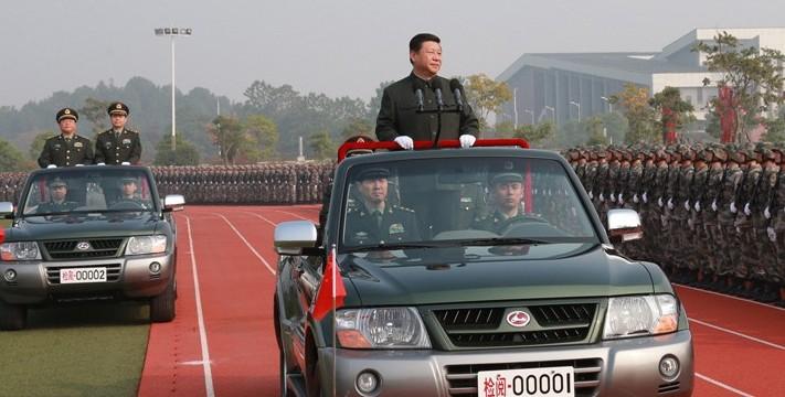 Xi Jinping parata cinese