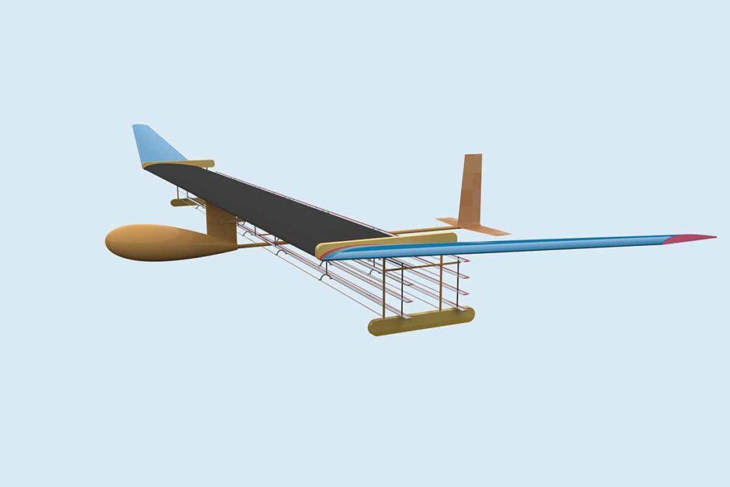 Aereo MIT propulsione al plasma vento ionico