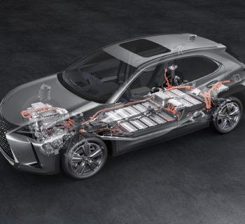 Lexus UX 300e, la prima batteria garantita per un milione di chilometri