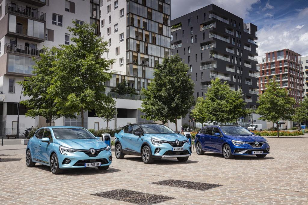 Renault Clio, Captur e Mégane E-Tech