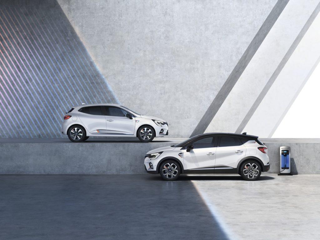 Renault Clio e Captur E-Tech