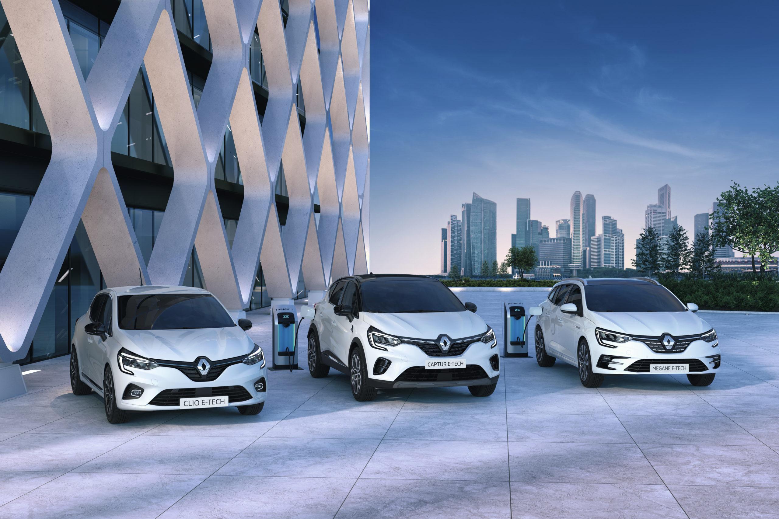 Renault E-Tech, l'ibrido full e plug-in per Clio, Captur e Mégane