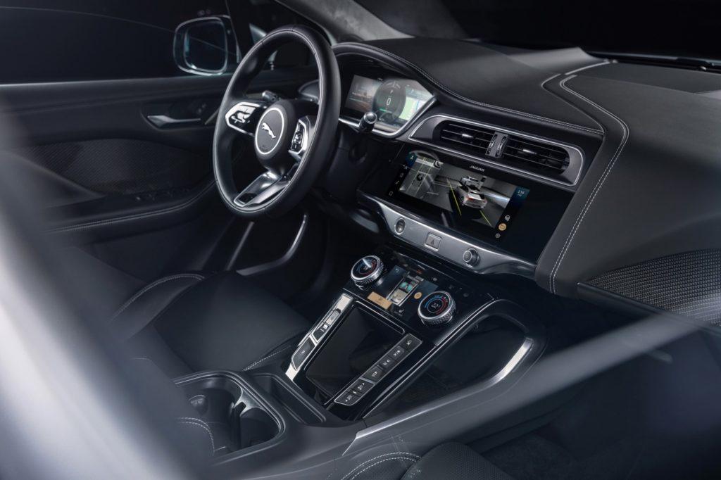 Interno nuova Jaguar I-Pace