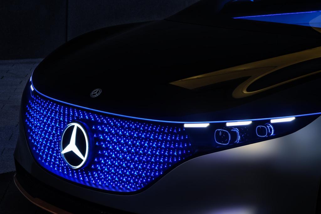 Mercedes EQS Vision